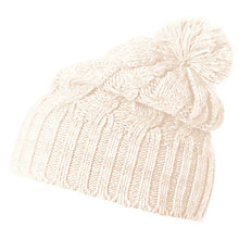 Buy Helly Hansen Montreal Beanie, One Size, White Online at johnlewis.com