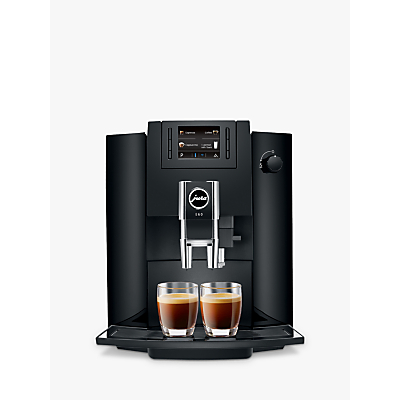 Product photo of Jura impressa e60 beantocup coffee machine piano black