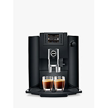 Buy Jura Impressa E60 Bean-to-Cup Coffee Machine, Piano Black Online at johnlewis.com