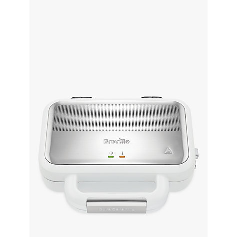 Buy Breville VST074 DuraCeramic Sandwich Toaster, White Online at johnlewis.com