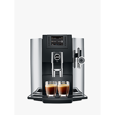 Product photo of Jura e8 beantocup automatic coffee machine chrome
