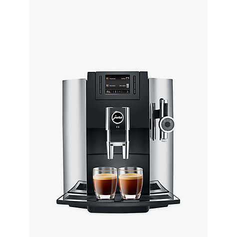 Buy Jura E8 Bean To Cup Automatic Coffee Machine Chrome