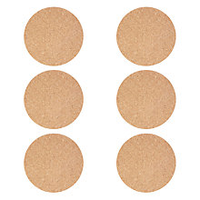 Buy House by John Lewis Cork Placemat, Set of 6 Online at johnlewis.com