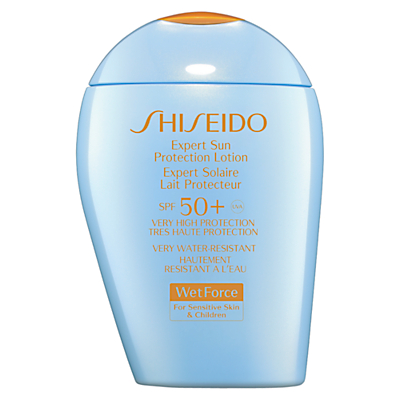 Shiseido WetForce Expert Sun Protection Lotion, SPF50+, 100ml