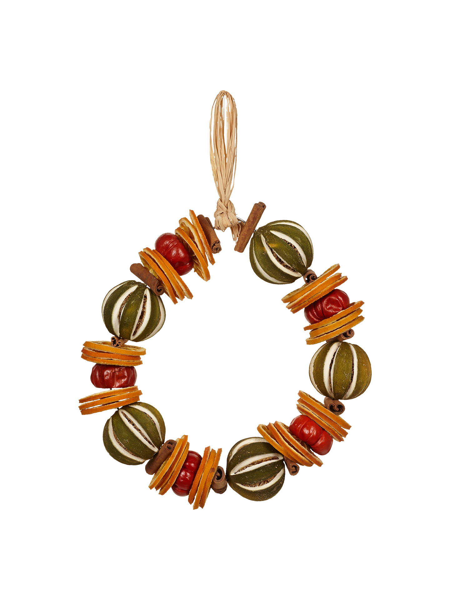 Buy Jormaepourri Ruskin House Lime Wreath Online at johnlewis.com