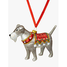 Buy John Lewis Christmas Dog Bauble Online at johnlewis.com