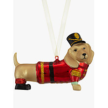 Buy John Lewis Dachshund Bellboy Bauble Online at johnlewis.com