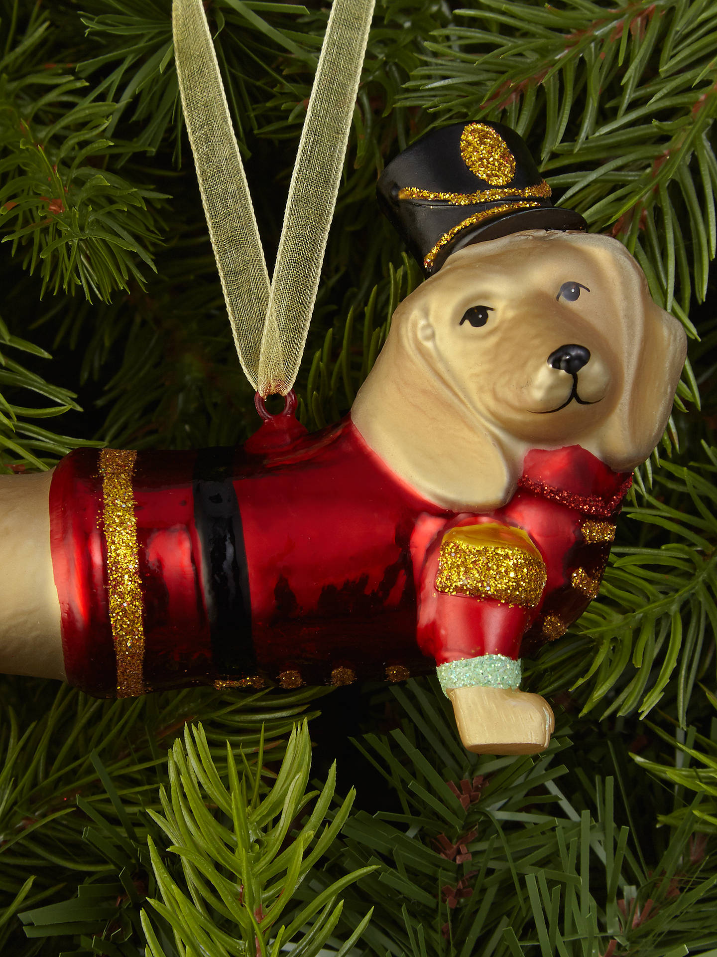 BuyJohn Lewis & Partners Dachshund Bellboy Bauble Online at johnlewis.com