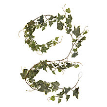 Buy John Lewis Snowshill Frosted Ivy Garland Online at johnlewis.com