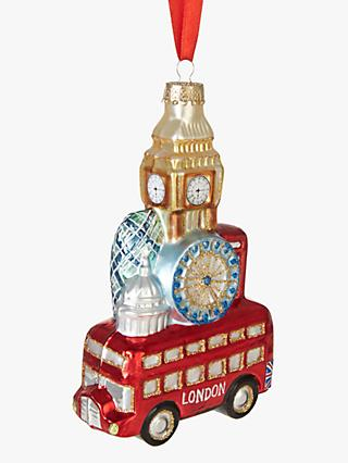 John Lewis & Partners Tourism London Scene Stack Bauble