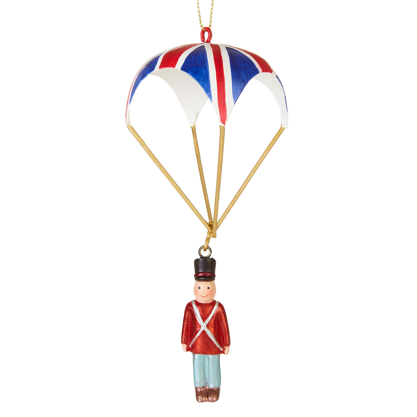 BuyJohn Lewis Tourism Soldier With Parachute Bauble Online at johnlewis.com