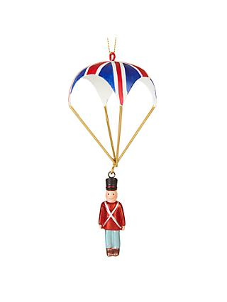 John Lewis & Partners Tourism Soldier With Parachute Bauble
