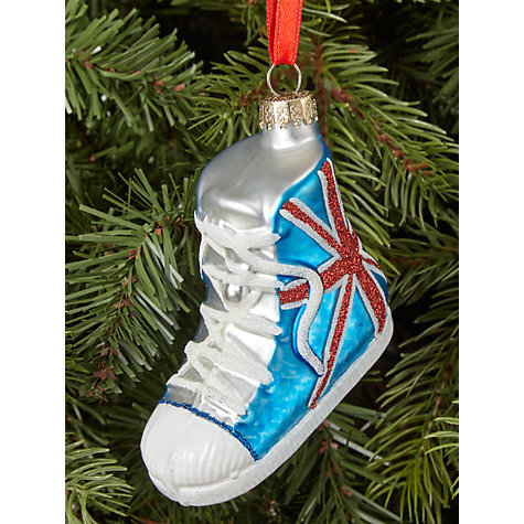 Buy John Lewis Tourism Union Jack Trainer Bauble Online at johnlewis.com