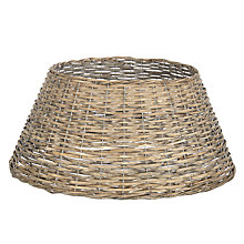 Buy John Lewis 57cm Distressed Willow Tree Skirt Online at johnlewis.com