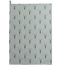 Buy Sophie Allport Stag Tea Towel Online at johnlewis.com