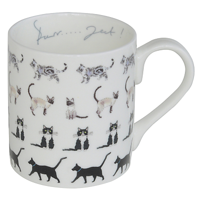 Product photo of Sophie allport cat mug