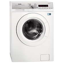 Buy AEG LW74486FL Freestanding Washing Machine, 8kg Load, A+++ Energy Rating, 1400rpm Spin, White Online at johnlewis.com
