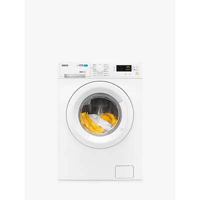 Zanussi ZWD71463NW Freestanding Washer Dryer, 7kg Wash/4kg Dry Load, B Energy Rating, 1400rpm Spin, White Review thumbnail