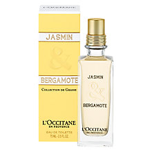 Buy L'Occitane Jasmine & Bergamote Eau de Toilette, 75ml Online at johnlewis.com