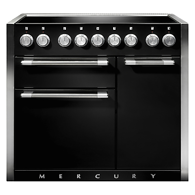mercury 1000 electric range cooker with induction hob. Black Bedroom Furniture Sets. Home Design Ideas