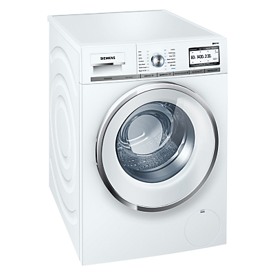 Image of Siemens iQ700 WMH4Y790GB Freestanding Washing Machine with Home Connect, 9kg Load, A+++ Energy Rating, 1400rpm Spin, White