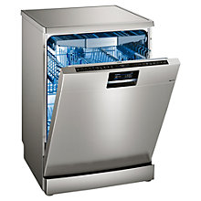 Buy Siemens SN278I26TE Freestanding Dishwasher with Home Connect, Silver Online at johnlewis.com