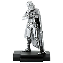 Buy Royal Selangor Captain Phasma Figurine, Limited Edition Online at johnlewis.com