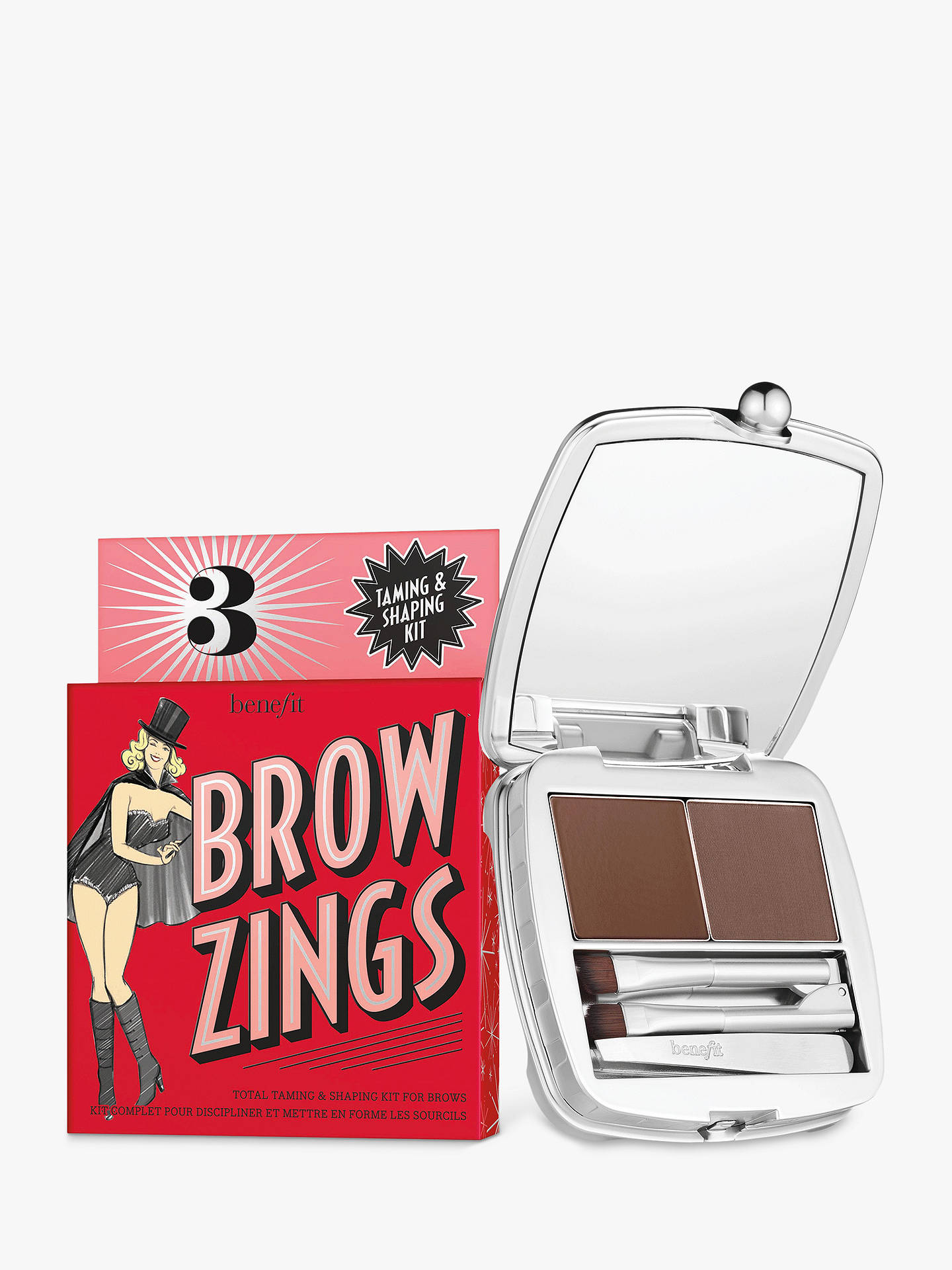 Buy Benefit Brow Zings Eyebrow Shaping Kit, 01 Light Online at johnlewis.com