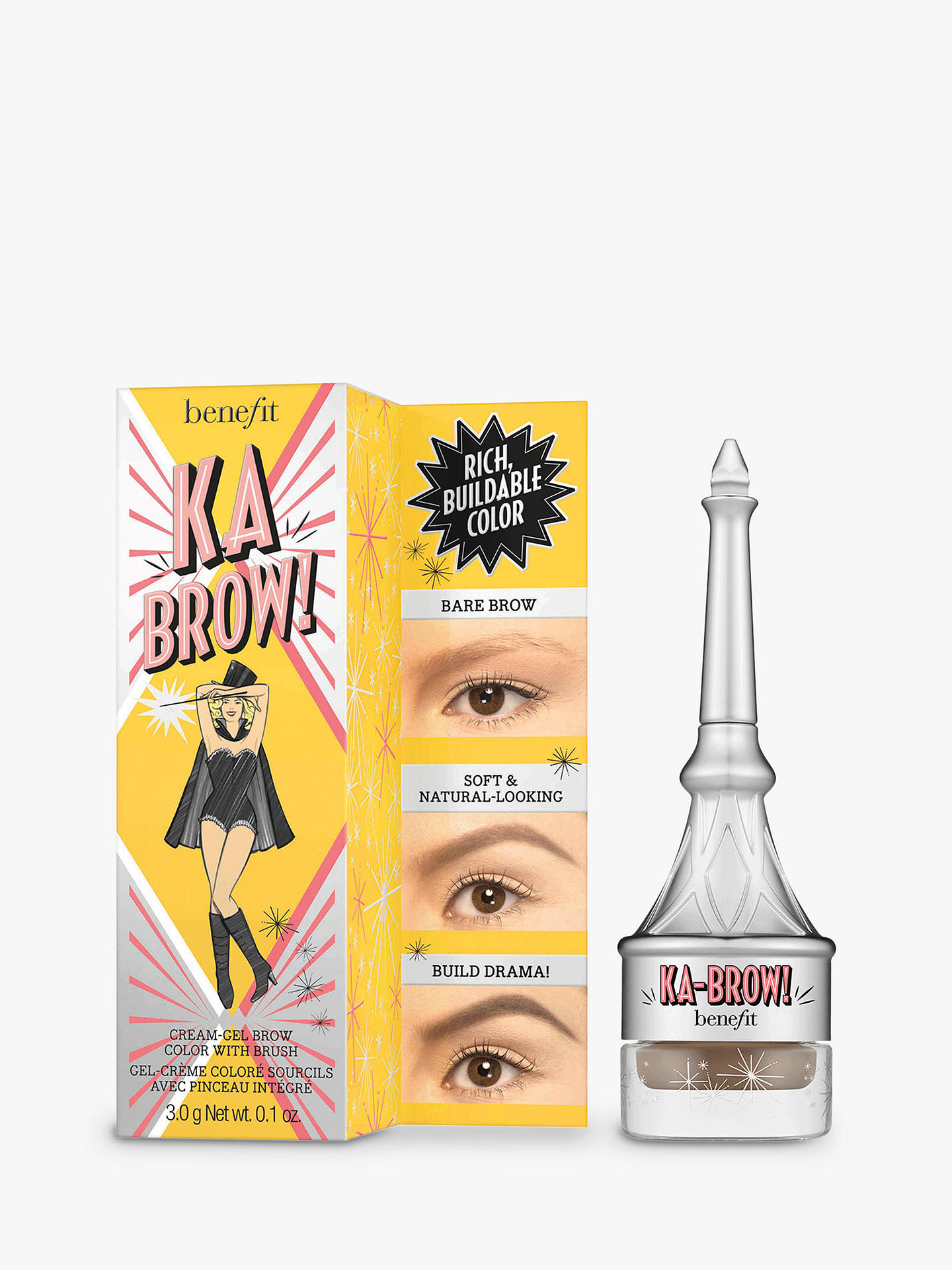 BuyBenefit ka-BROW! Eyebrow Cream-Gel Colour, 01 Light Online at johnlewis.com