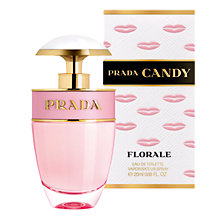Buy Prada Candy Florale Eau de Toilette Spray, 20ml Online at johnlewis.com