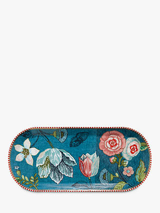 Buy PiP Studio Spring To Life Rectangle Cake Tray, Blue Online at johnlewis.com