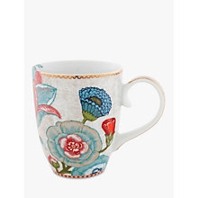 Buy PiP Studio Spring to Life Large Mug, Cream Online at johnlewis.com