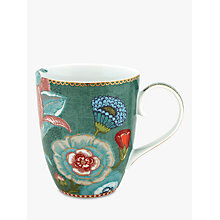 Buy PiP Studio Spring To Life Large Mug, Green Online at johnlewis.com
