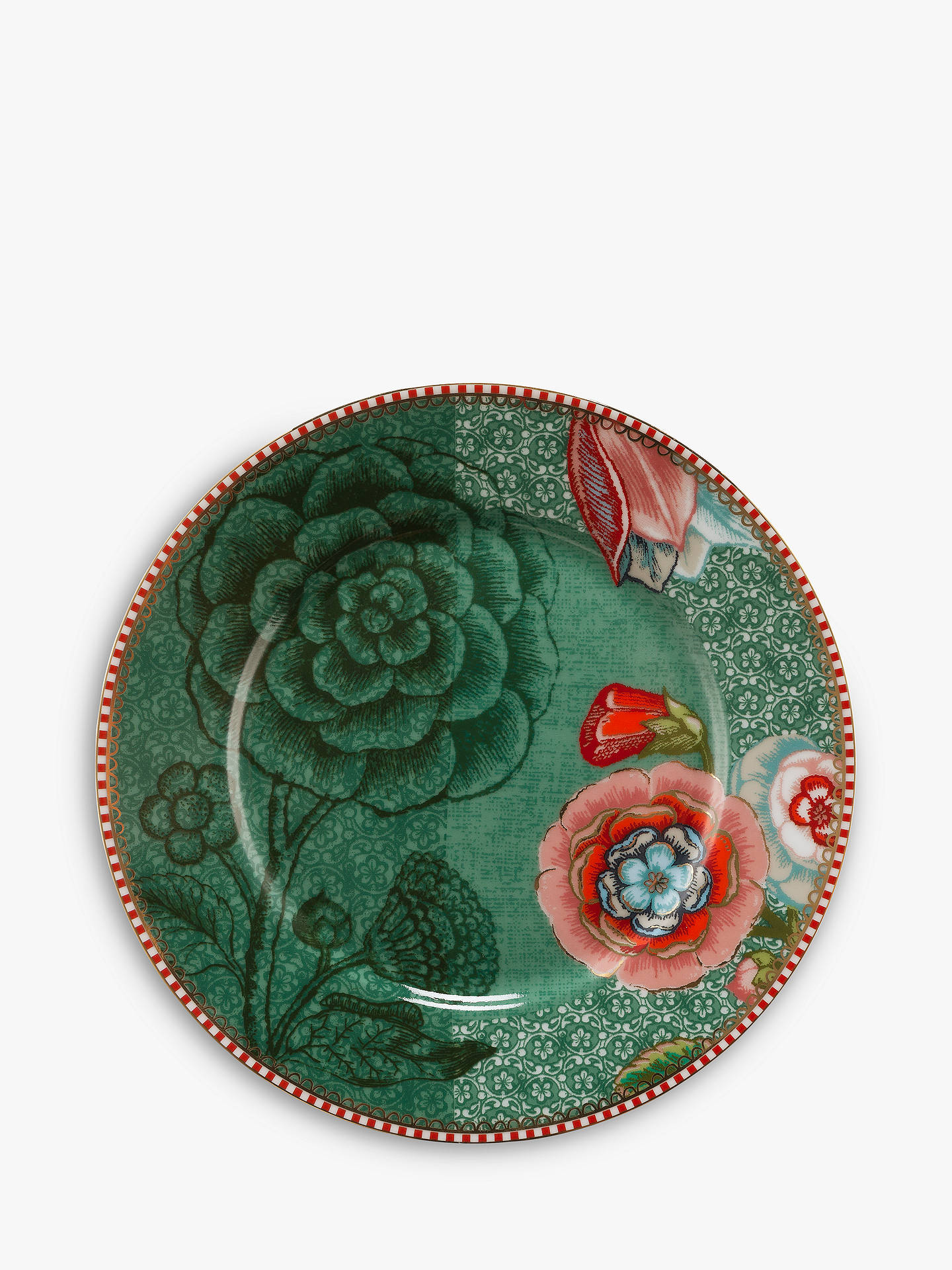 1fd87333dfc Buy PiP Studio Spring To Life 17cm Plate, Green Online at johnlewis.com
