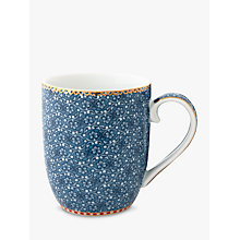 Buy PiP Studio Spring To Life Small Mug, Blue Online at johnlewis.com