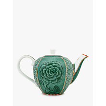 Buy PiP Studio Spring To Life Small Teapot, Green Online at johnlewis.com