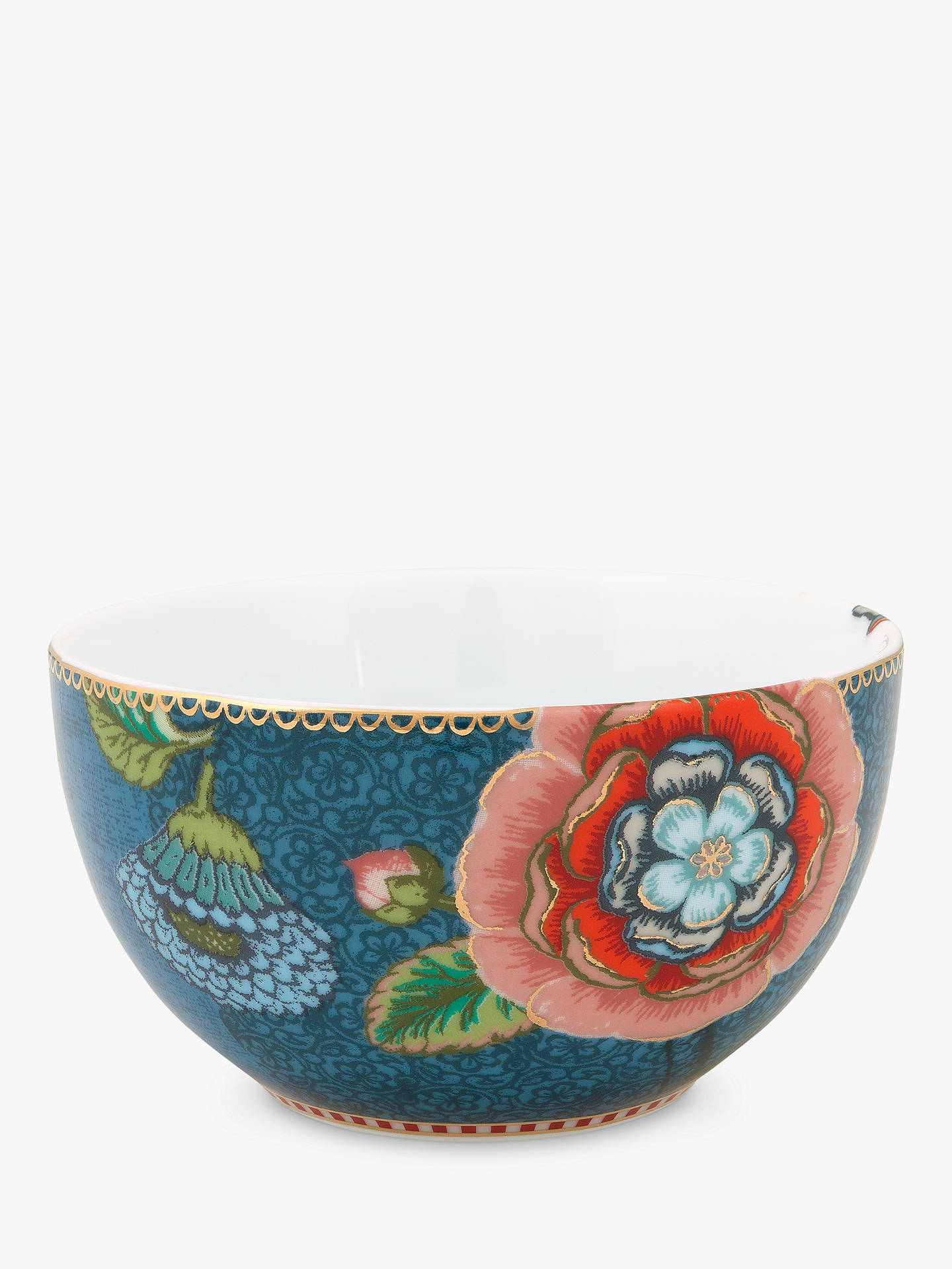 BuyPiP Studio Spring To Life 12cm Bowl, Blue Online at johnlewis.com