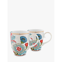Buy PiP Studio Spring to Life Large Mug, Set of 2, Cream Online at johnlewis.com
