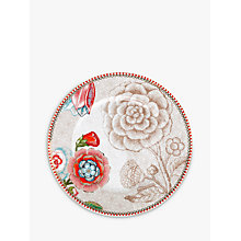Buy PiP Studio Spring to Life 17cm Plate, Cream Online at johnlewis.com