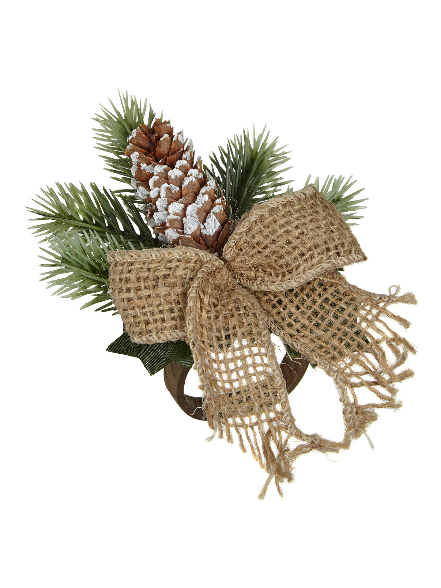 BuyJohn Lewis Pinecone Napkin Ring Online at johnlewis.com