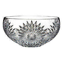 Buy Waterford Crystal Tom Brennan Sunburst Bowl Online at johnlewis.com
