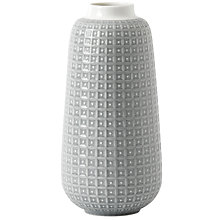 Buy HemingwayDesign for Royal Doulton Rose Vase, H28cm, Grey Online at johnlewis.com