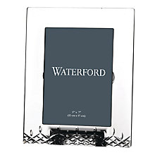 "Buy Waterford Crystal Lismore Essence Picture Frame, 5 x 7"" Online at johnlewis.com"