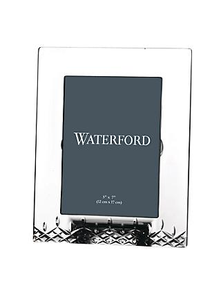 Waterford Crystal Lismore Essence Picture Frame, 5 x 7""