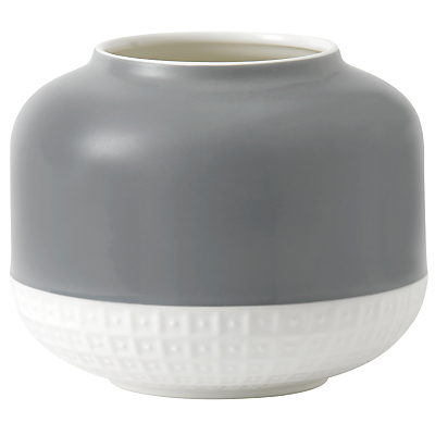 HemingwayDesign for Royal Doulton Rose Vase, H14.3cm, Grey