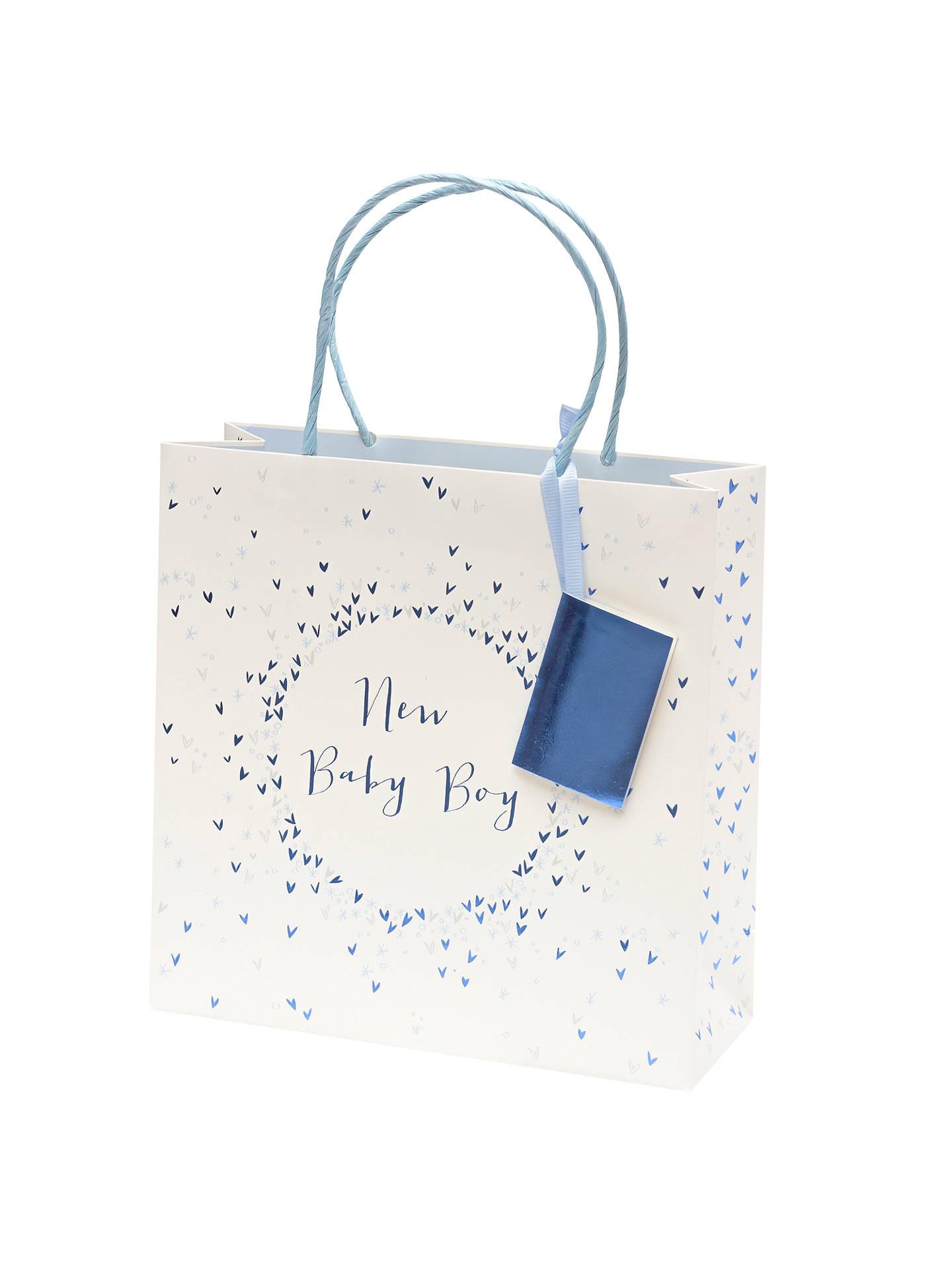 Belly Button Designs New Baby Boy Sprinkles Gift Bag, Medium
