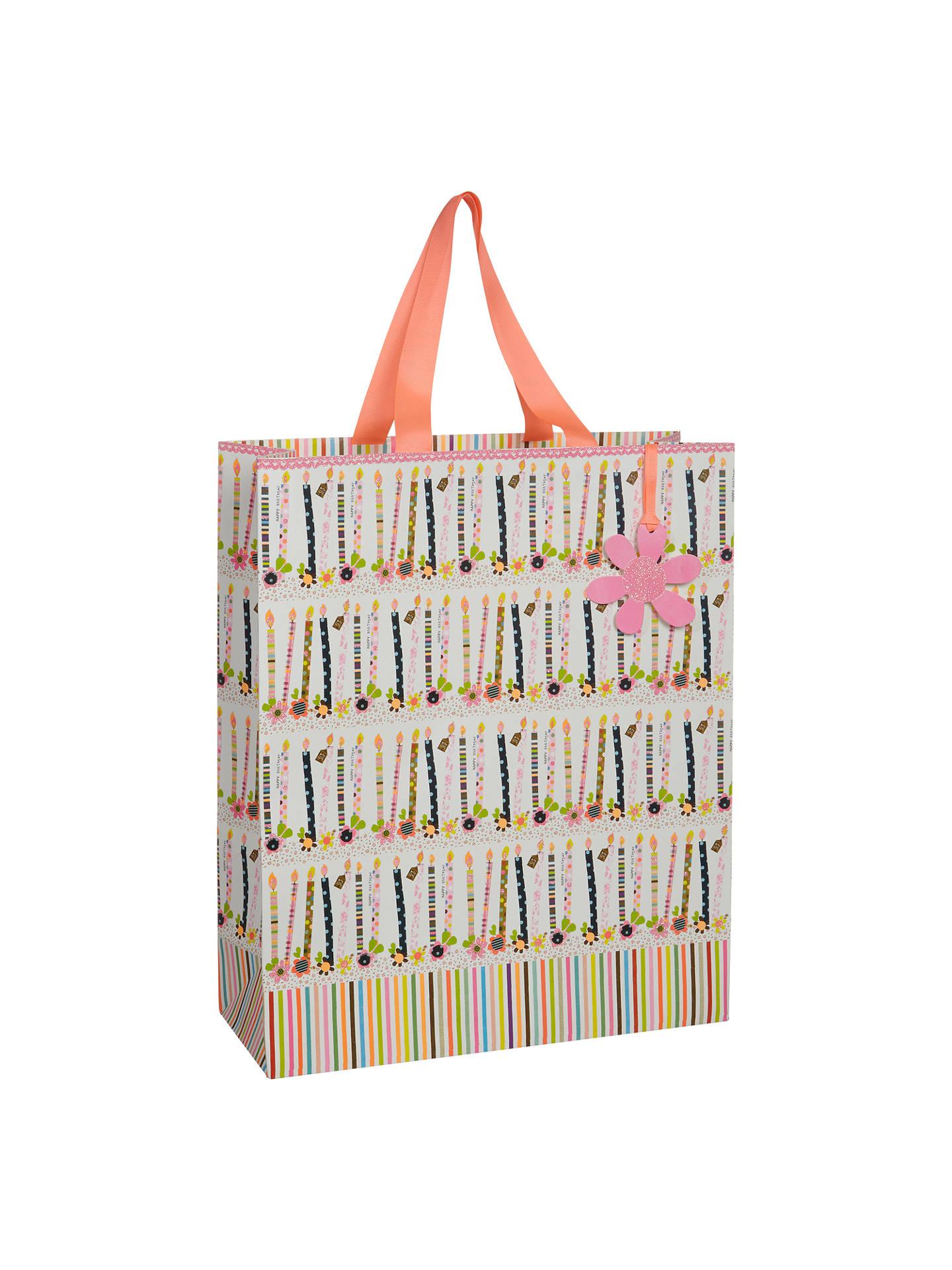 Paper Salad Candles Gift Bag, Large at John Lewis & Partners