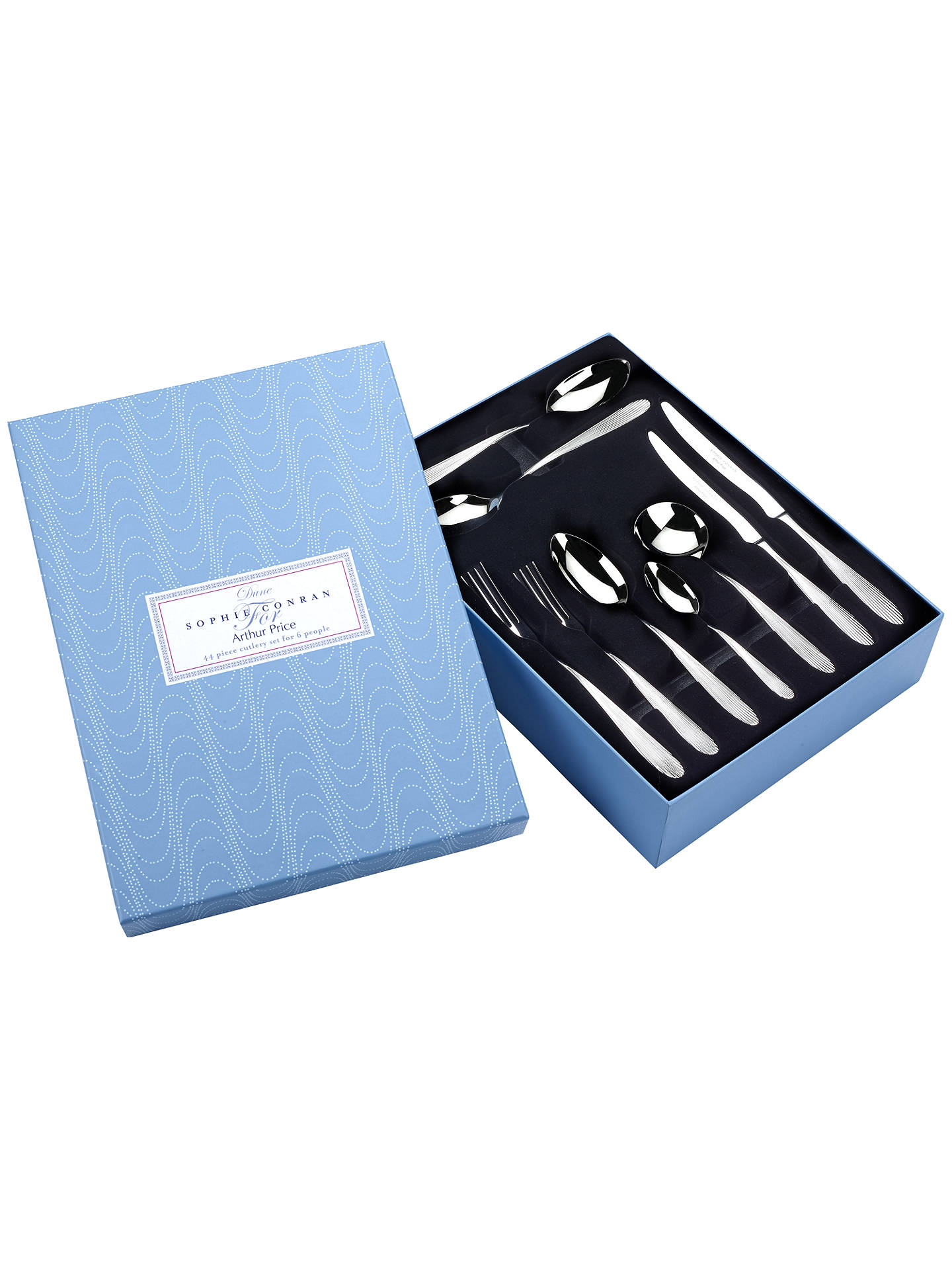 Buy Sophie Conran for Arthur Price Dune Cutlery Set, 44 Piece Online at johnlewis.com