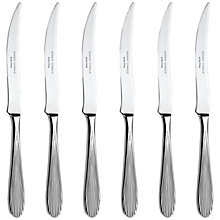 Buy Sophie Conran for Arthur Price Dune Steak Knives, Set of 6 Online at johnlewis.com