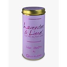 Buy Lily-Flame Lavender And Lime Melts Online at johnlewis.com